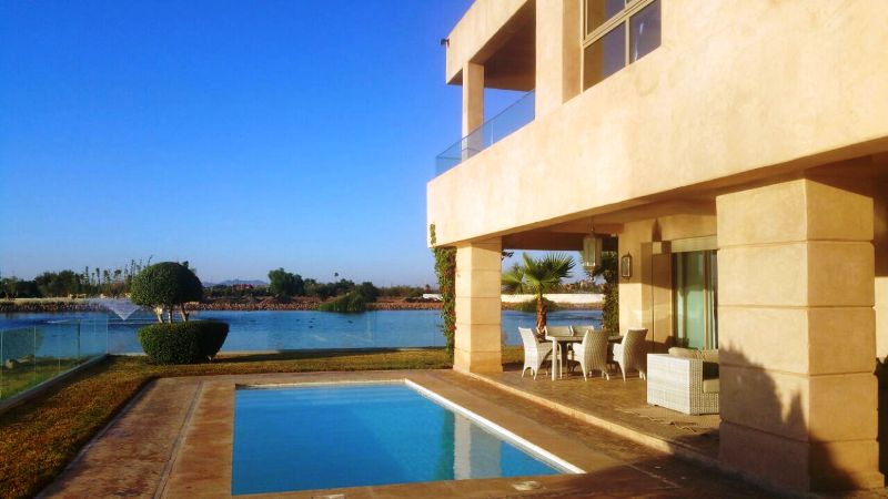 Sublime villa contemporaine golf Marrakech