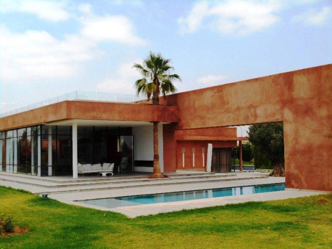 Villa moderne location longue durée Rte Amezmiz