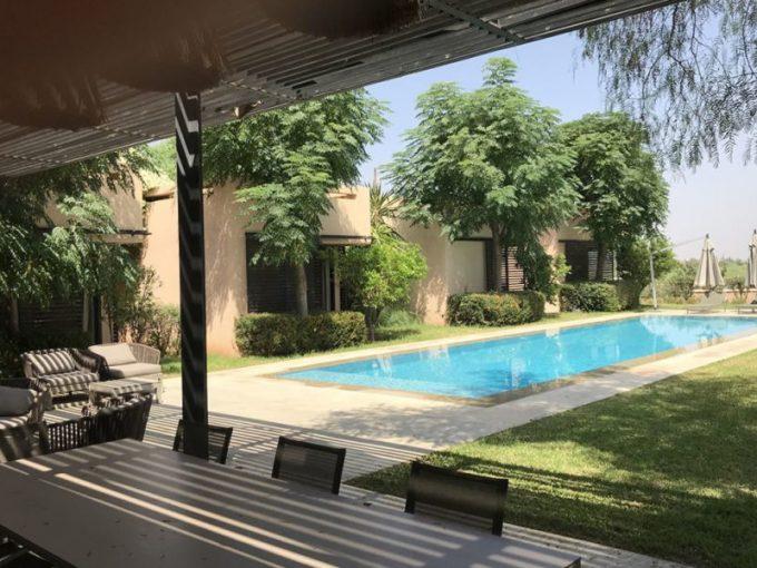 Splendide villa domaine golfique Marrakech
