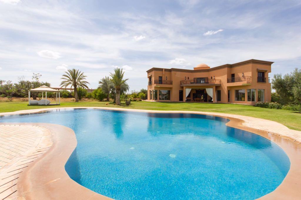 Belle villa a loué route de l'ourika Marrakech