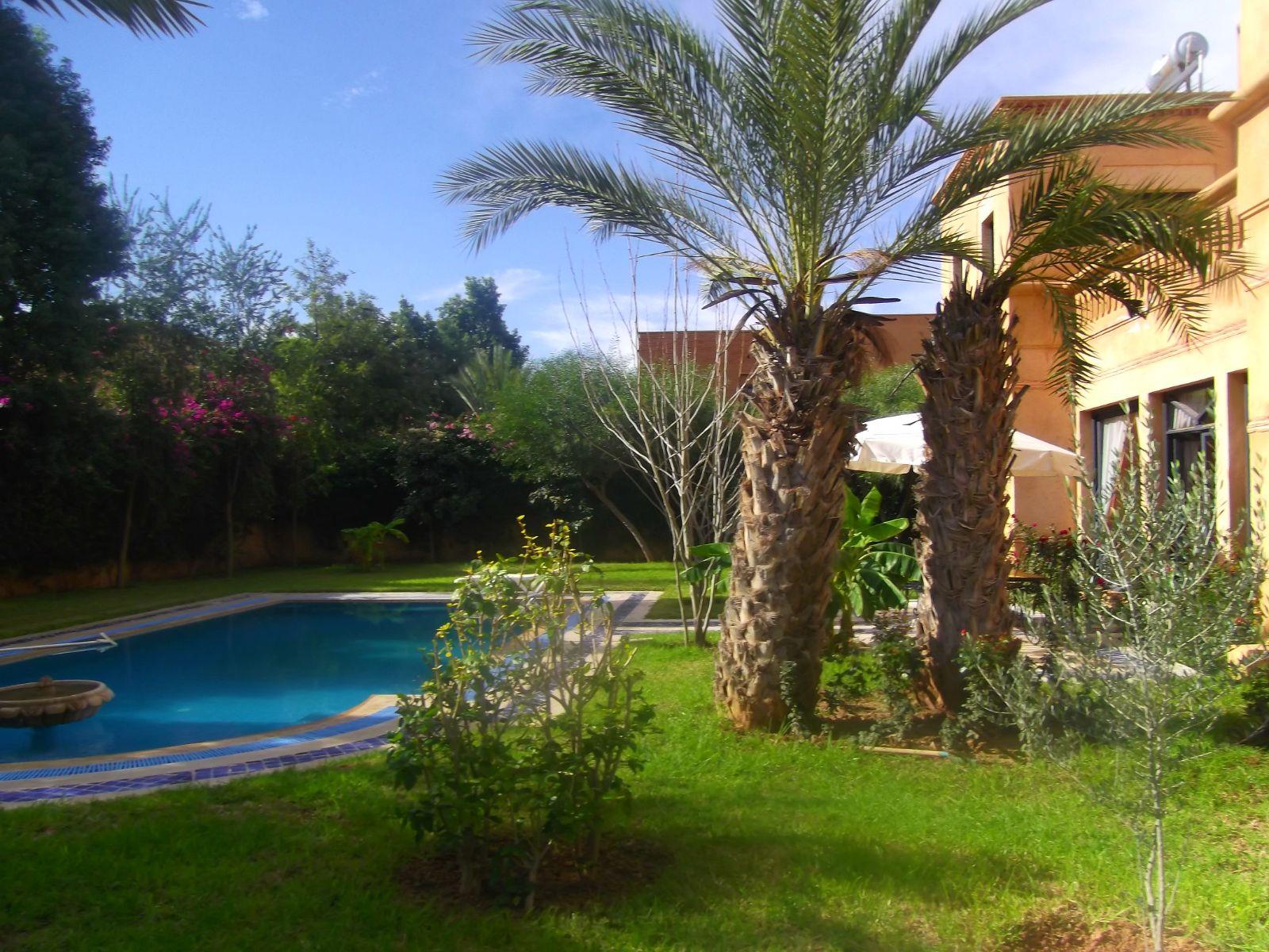 Charmante villa loué en longue durée golf Amelkis Marrakech