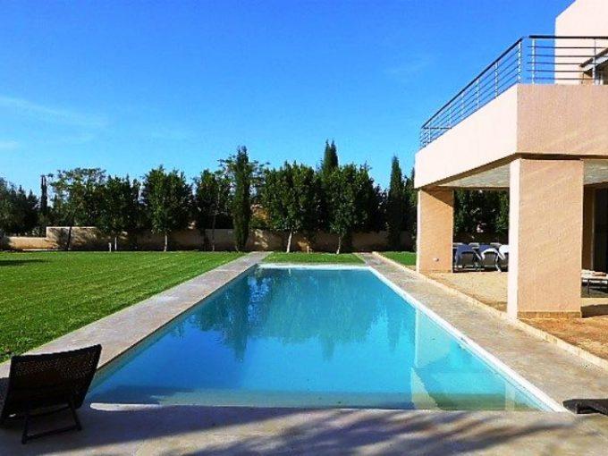 Magnifique villa a la location domaine golfique Marrakech